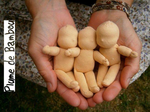 Petites poupées Waldorf pour bientôt!