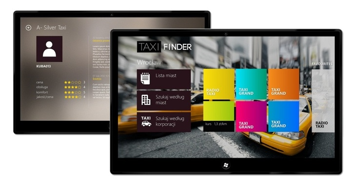 Taxi Finder. This is a comprehensive service that allows to order a taxi from any location. Provides access to corporate deals in the city, taking into account specific pricing, payment methods, additional equipment and the opinions of passengers. Meet the mobile application through which you begin to travel with pleasure!