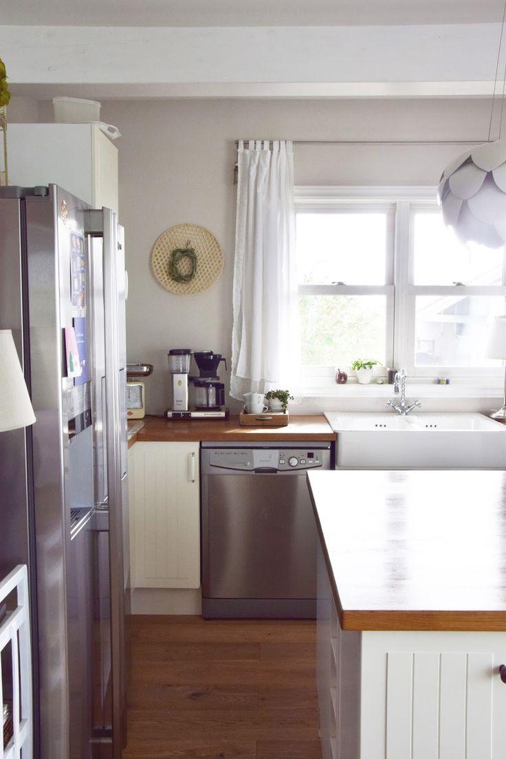 Diy für eine easy peasy wanddeko ausserdem zeige ich euch noch kücheneinblicke küche