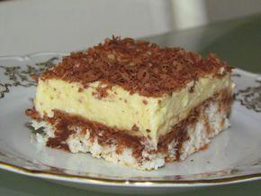 Top Cuisine avec Lavi: Prajitura cu nuca de cocos si crema de vanilie / Coconut cake with vanilla cream