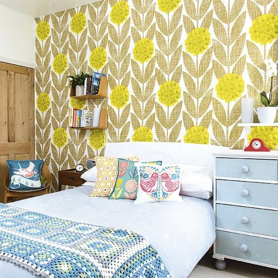 59 best Feature Walls images on Pinterest | Bedrooms, Feature walls ...