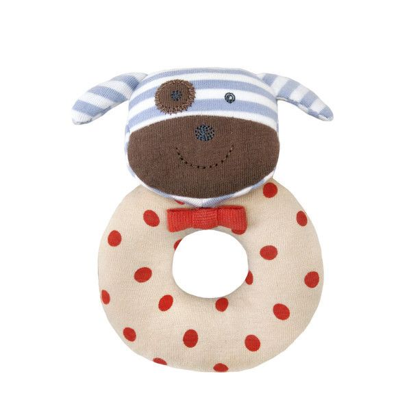 Rattle Boxer the Dog - Baby Stuff Apple Park – Sweet Giggles Organic Baby Boutique