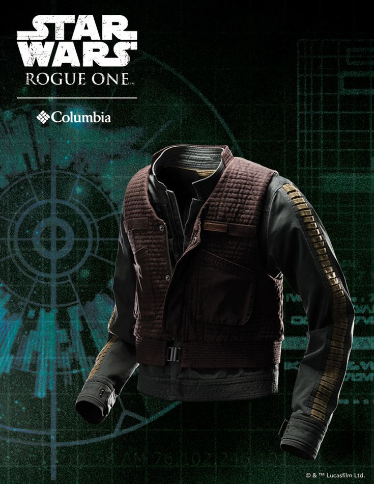 Star Wars Rouge One Women's Jyn Erso Rebel Jacket by Columbia Sportswear