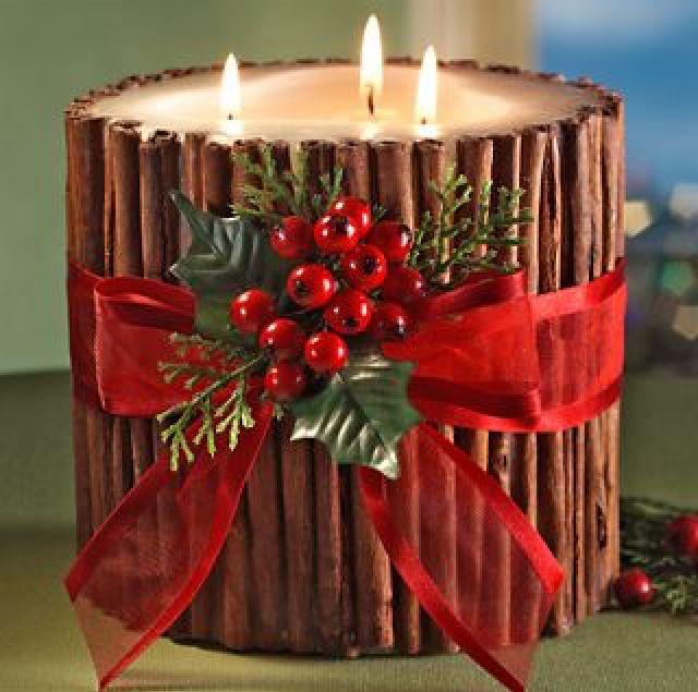 Inspirações da semana: velas de Natal