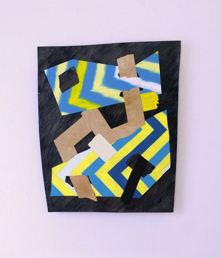 Peter Gouge F.M.I.T.K. (2016) Oil and Encaustic on Plywood