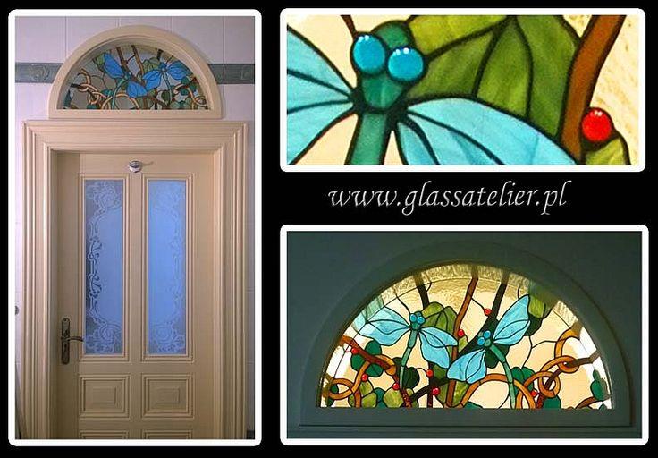 #glassatelier , #witraże , #stainedglass , #fiffany