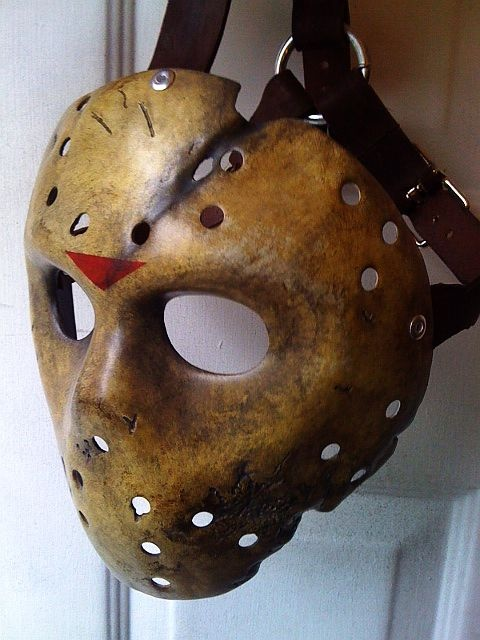 X Friday The 13th Jason Voorhees Horror Hockey Mask