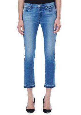 Hudson Jeans Women's Tilda Midrise Crop Cigarette Jean - Impulse - 24