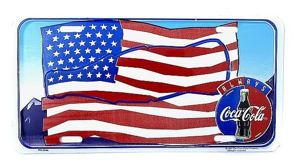 Plate Cola - die amerikanische Flagge - Hausnummern und Schilder online kaufen