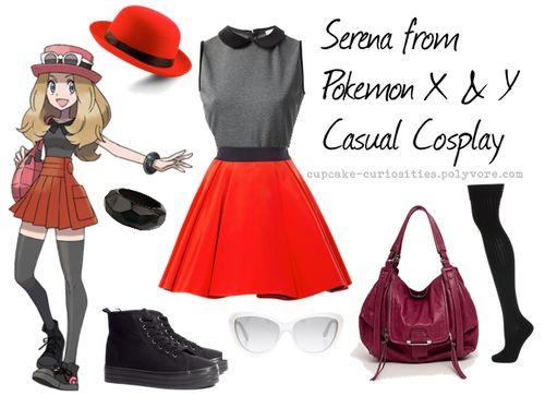 Serena from Pokemon casual cosplay  sc 1 st  Pinterest & 89 best Casual Cosplay images on Pinterest | Disney fashion Disney ...