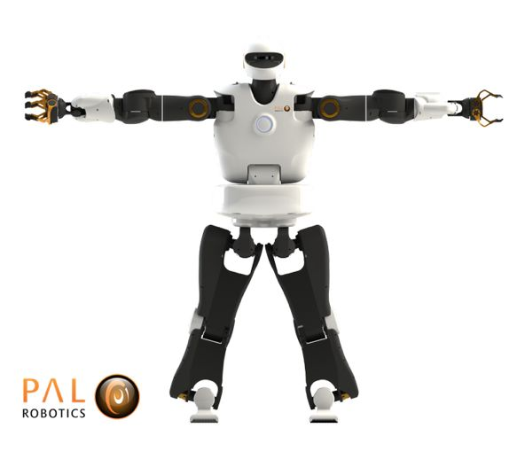 TALOS: electrical, fully torque controllable humanoid #robot for industry: buff.ly/2db7w6A #cobot #Industry4.0 #HRI