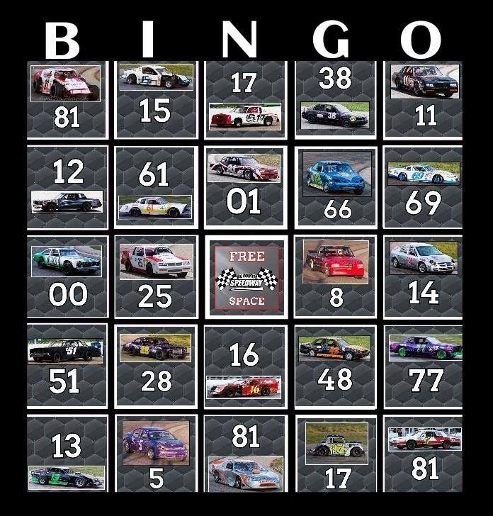 Race Car Bingo Facebook Contest Promo Video
