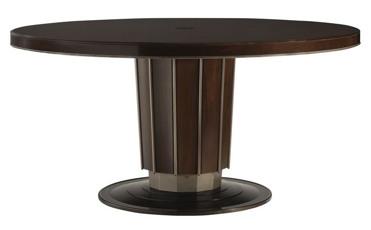 sofield collection sutton round dining table baker furniture suite