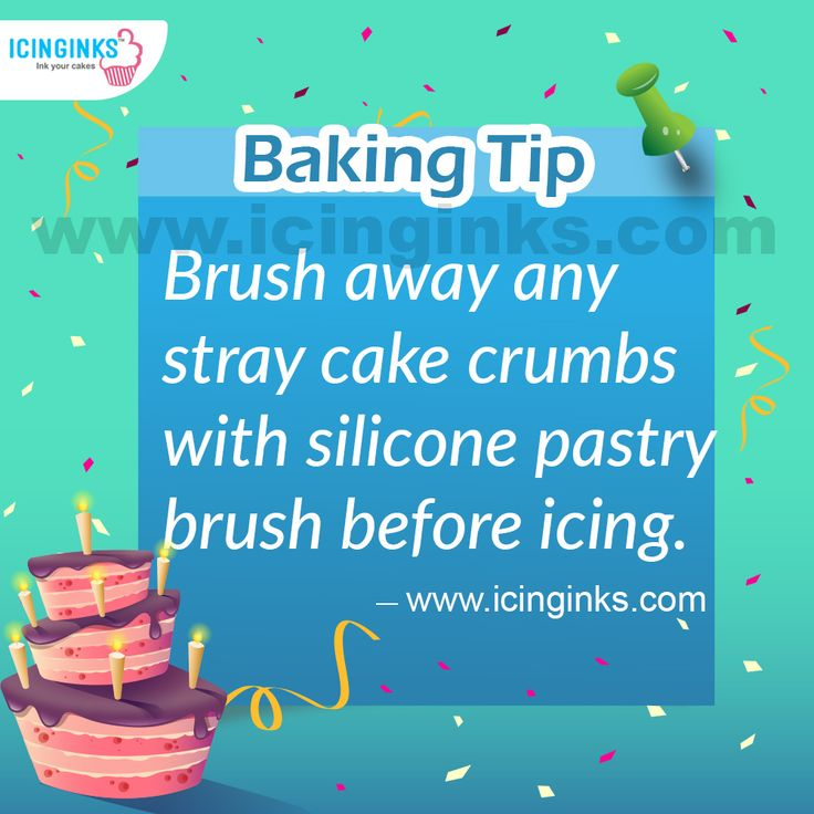 #CakeMaking #Tip Of The week from #Icinginks, Make your #Cake more perfect.