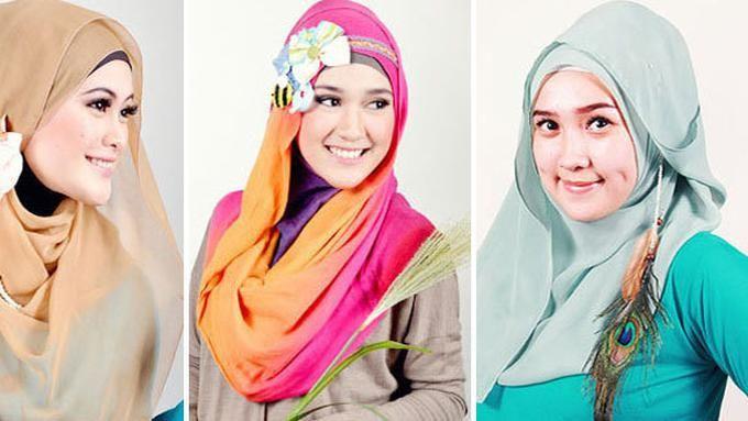 Tutorial Cara Memakai Anting Hijab Gaya Hijab Anting Hijab