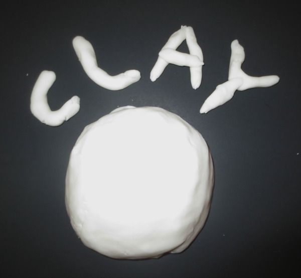 2 Ingredient Clay Recipe