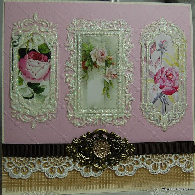 Meg's Garden: Hi Bloggers Trish here today with 3 cards using the beautiful Megs Garden Rose quartz Collection