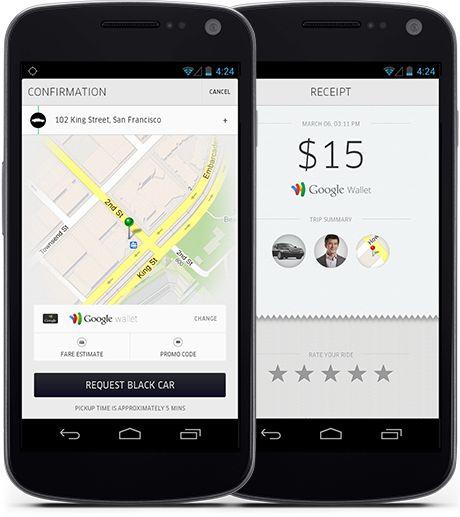 uber style website