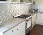 Kitchen splashback example with Pressed Metal - www.pressedtinpanels.com.au (Bathurst)