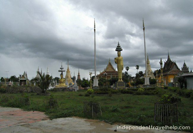 Temple complex, Kampong Cham