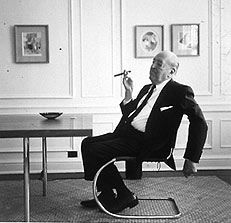 Ludwig Mies van der Rohe (1886-1969) Director of the Bauhaus from 1930-1932.