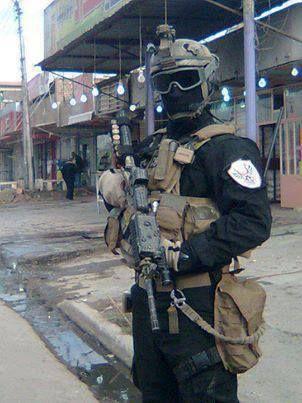 Iraqi commando (The golden force)