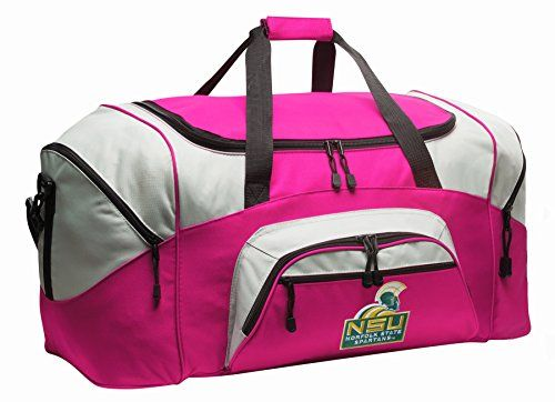 Norfolk State Duffle Bag Nsu Spartans Ladies Gym Bag Luggage Duffel