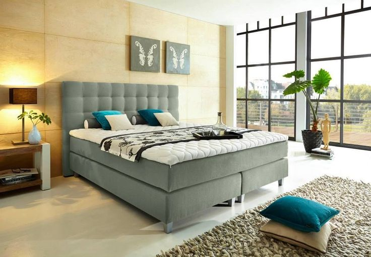 16 best Boxspringbetten images on Pinterest Beds, Bedroom and Bedrooms