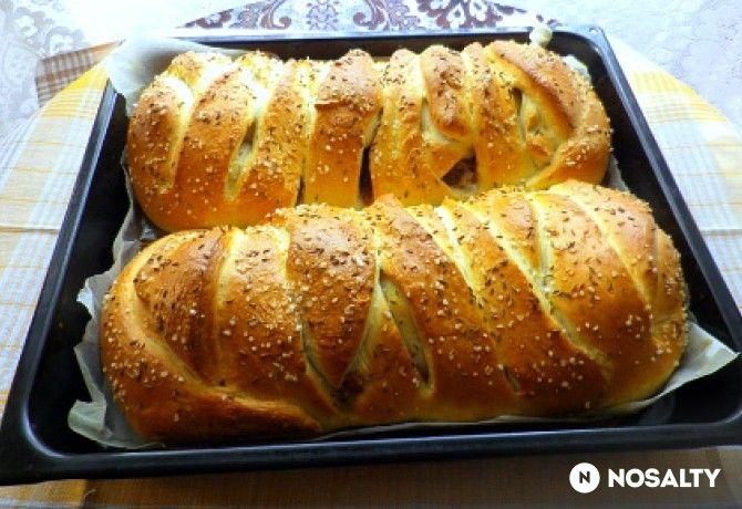 Töltött kenyér Évi néni konyhájából
