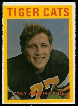 Tony Gabriel - 1972 OPC