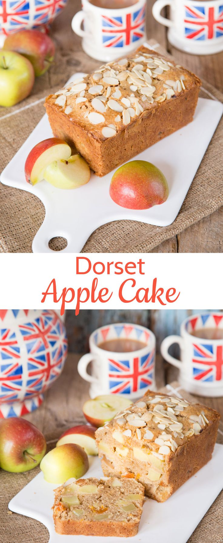 Dorset Apple Cake - the perfect thing to bake on your self catering cottage holiday
