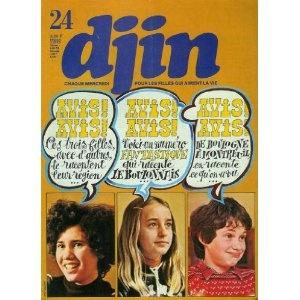 Djin n°24 du 14/06/1978 - Trois filles du Boulonnais - Le port de pêche de Boulogne poster - Sans famille BD - Renaud Belmond BD -... [magazine mis en vente par Presse-Mémoire]
