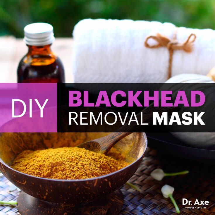 DIY Blackhead Removal Mask with Turmeric, Peppermint & Frankincense - Dr. Axe