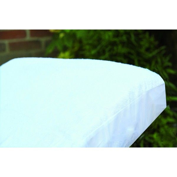 PMP Lote S/ábana ajustable 70x140 cm Protector de colch/ón Blanca