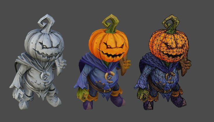 Pumpkin the Courier – Dota 2