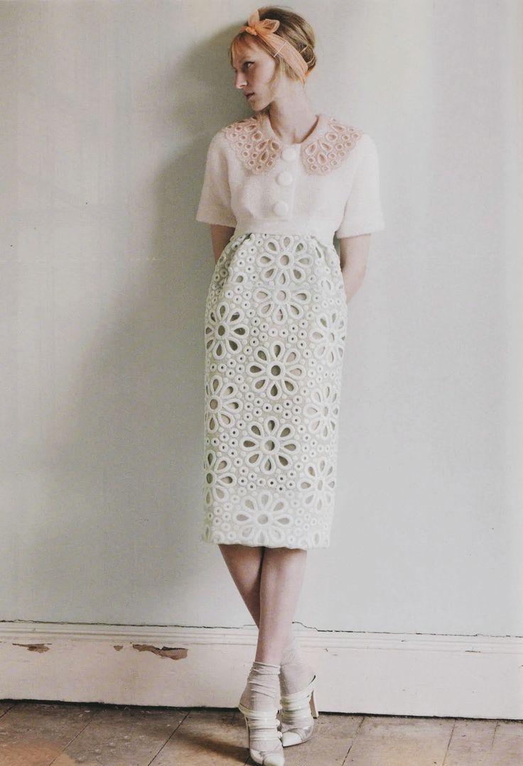 Julia Nobis in Harper's Bazaar Australia May 2012 by Luke Irons