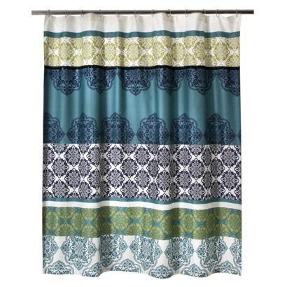 68 best aqua bubble bathroom images on pinterest for Master bathroom curtains