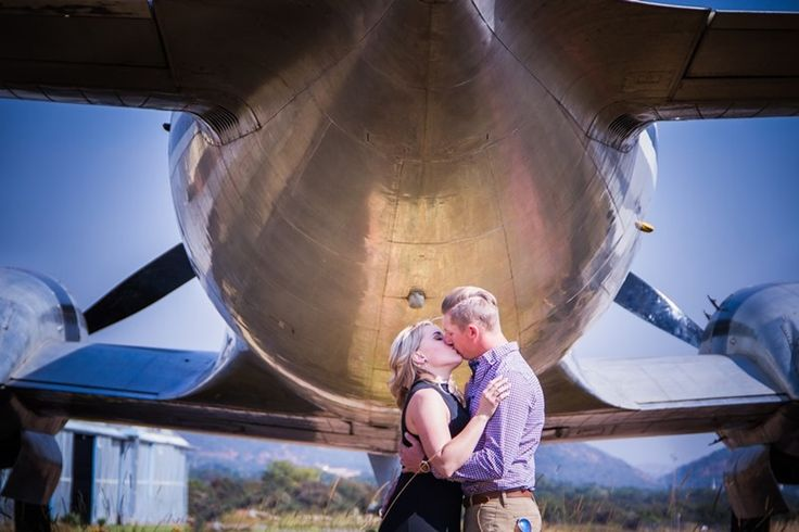 Stunning Photo shoot of Alta & Pierre at Wonder boom airport