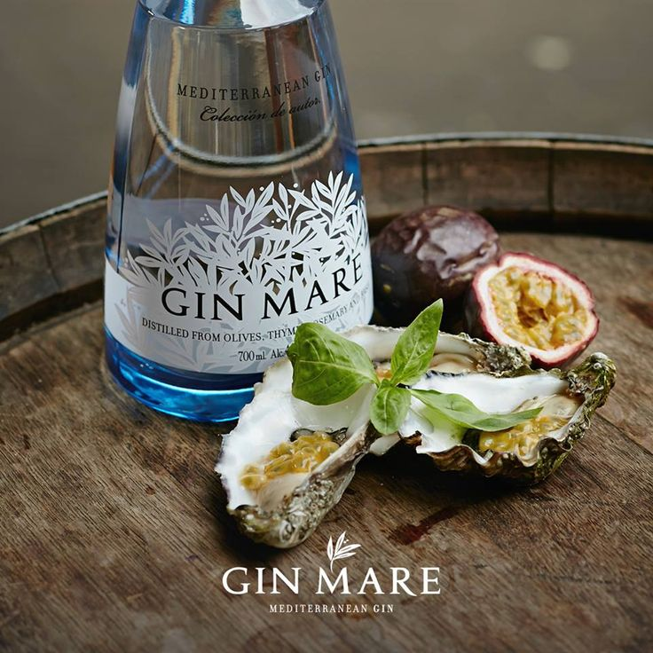Utterly unique Gin Mare with a few oysters.