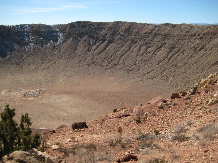 Meteor Crater National Monument, AZ, just off of old Route 66. Visited as a teen in 1968.