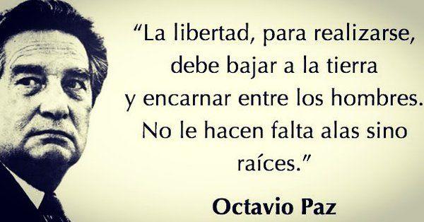 Un día como hoy pero de 1998, muere el escritor mexicano Premio Nobel de Literatura Octavio Paz.  #FelizMartes