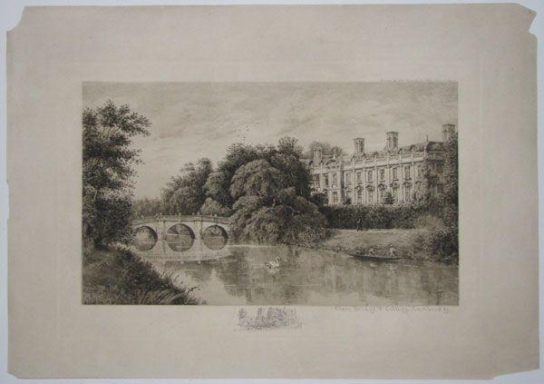 silvermemorialbridge | Clare Bridge & College, Cambridge.