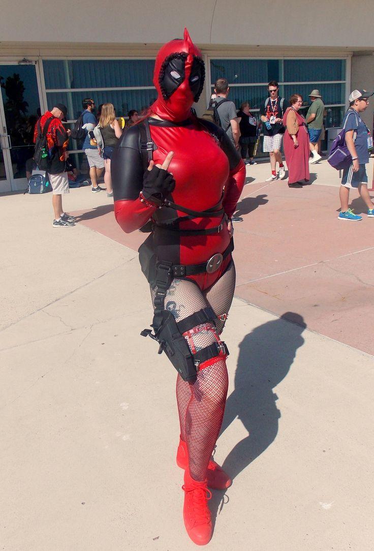 13985 best superheroine cosplays that caught my eye images on pinterest cosplay girls marvel - Deadpool harley quinn notebook ...