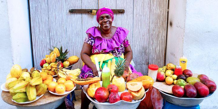 Palenqueras Fruit Seller