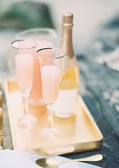 Champagne! In victory one deserves it; in defeat, one needs it. ~Napoleon BonaparteWedding Inspiration, Blushes Wedding, Champagne, Food, Beach Weddings, Peaches Bellinis, Layered Cake, Gold Wedding, Drinks