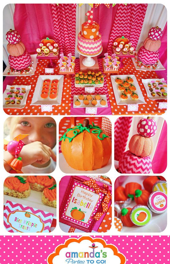 Pumpkin Patch Party Printable Fall Birthday by AmandasPartiesToGo