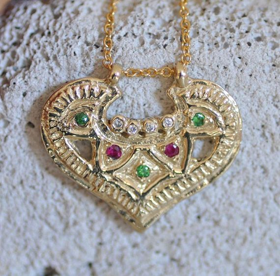 14k Gold Necklace Solid Gold Necklace Indian Gold jewelry #Indianstylnecklce #Diamondnecklace  #Finegoldjewelry #GoldJewelleryHeavy