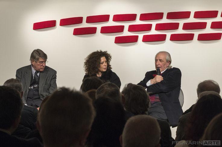 Foto : Al di qua del muro - FerrarinArte - 2017 Giorgio Bonomi, Paola Pezzi e Pino Pinelli