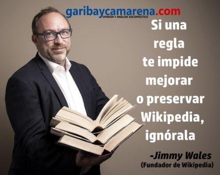 """El mecanismo de """"Ignore All Rules"""" establecido por Wikipedia es un útil recordatorio de que las normas y leyes no"""