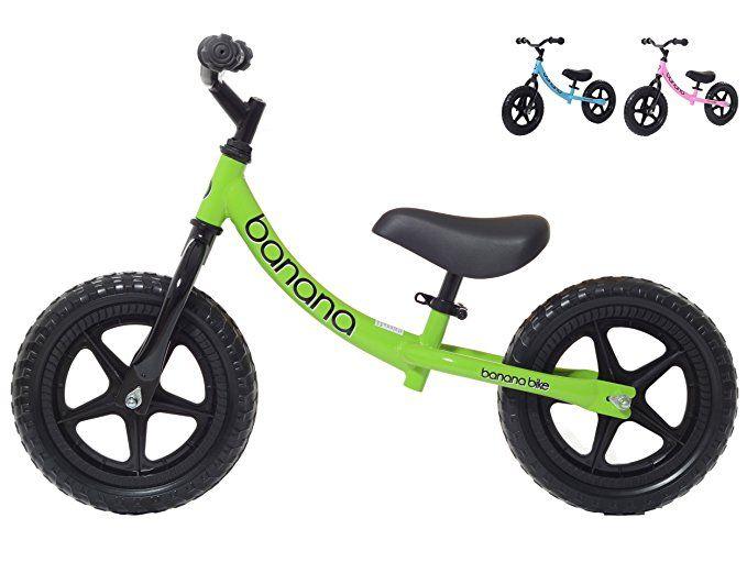 Banana Bike Lt Lightweight Balance Bike For Kids 2 3 4 Year